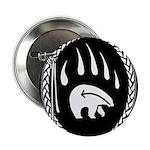 Native Art Button Tribal Bear Art Buttons 10 pk