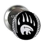 Native Art Button Tribal Bear Buttons Keepsakes