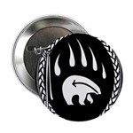 "Tribal Bear Claw 2.25"" Button"