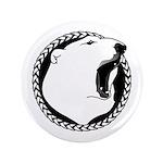 """Native Art Tribal Bear 3.5"""" Button (100 pack)"""
