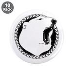"""Native Art Tribal Bear 3.5"""" Button (10 pack)"""