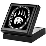 Tribal Bear Claw Keepsake Box
