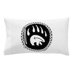 Native Art Tribal Bear Pillow Case