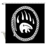 Native Art Tribal Bear Shower Curtains Decor