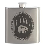 Tribal Bear Claw Flask