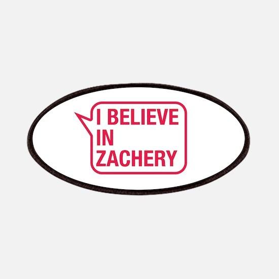 I Believe In Zachery Patches