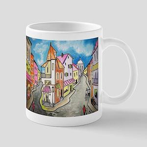 Design #25 Old Victorian Village Mug
