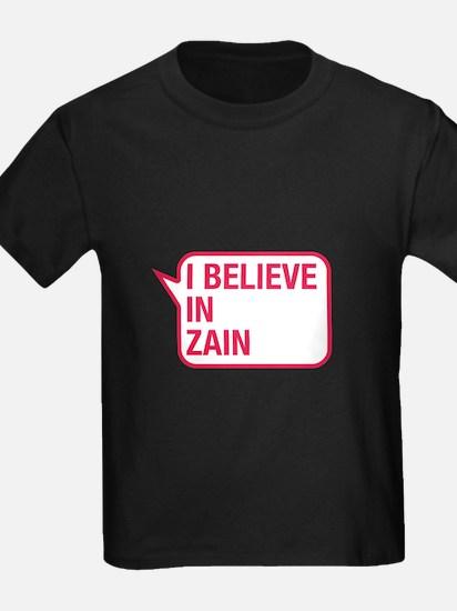 I Believe In Zain T-Shirt