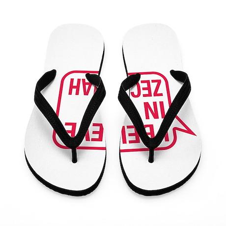 I Believe In Zechariah Flip Flops