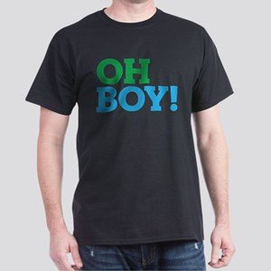 Oh Boy Type Dark T-Shirt