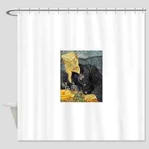 Portrait of Doctor Gachet Shower Curtain