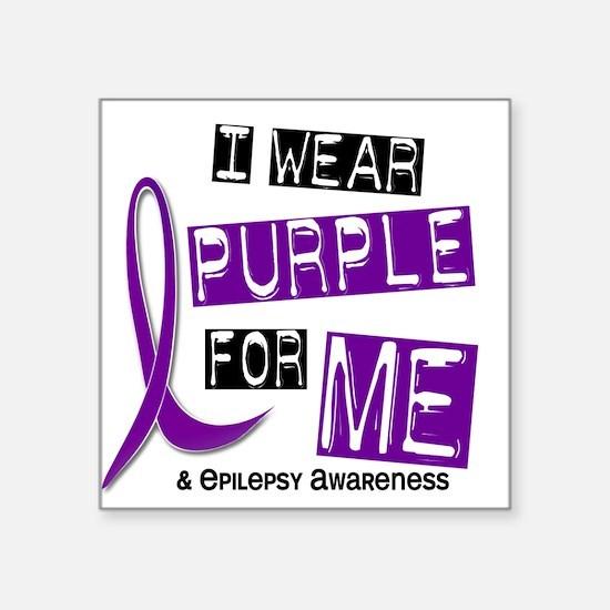 I Wear Purple 37 Epilepsy Sticker