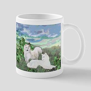 samoyed blanket Mug