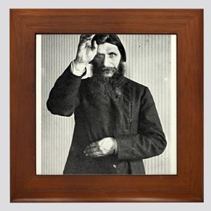 Gregory Rasputin Framed Tile