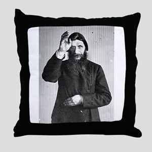 Gregory Rasputin Throw Pillow