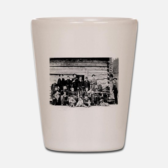 The Hatfield Clan Shot Glass