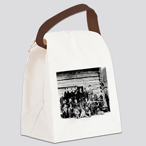 The Hatfield Clan Canvas Lunch Bag