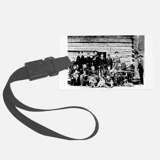 The Hatfield Clan Luggage Tag