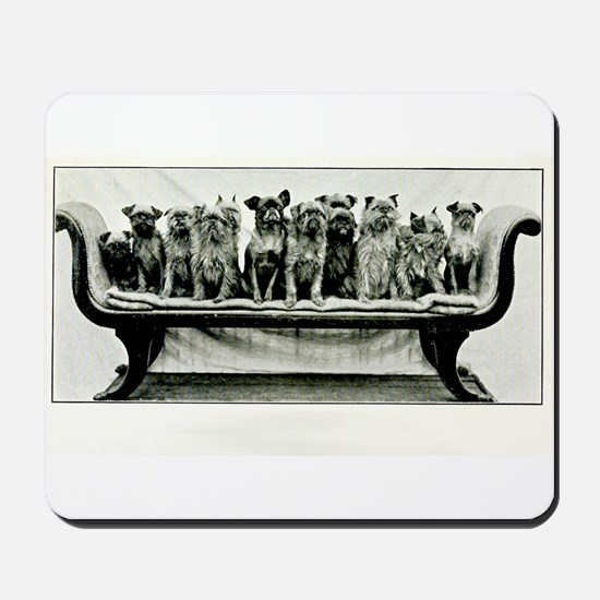 Dogs On A Couch Mousepad