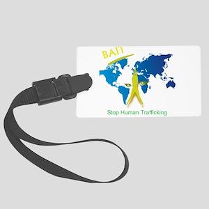 Bait! Stop Human Trafficking Luggage Tag