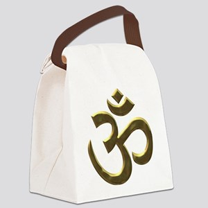 gold ohm Canvas Lunch Bag
