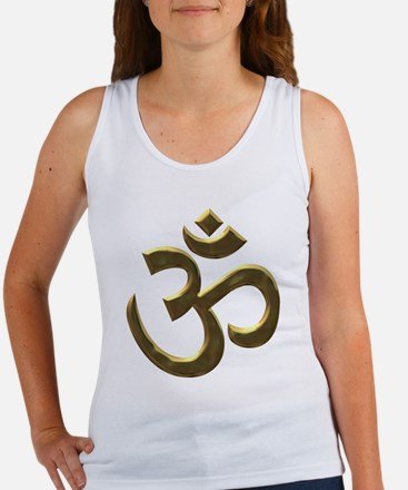 gold ohm.png Tank Top