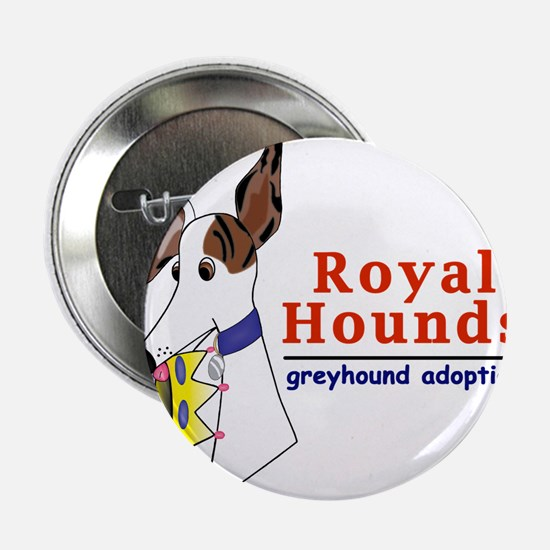Royal Hounds Greyhound Adoption Logo (RHGA) 2.25""