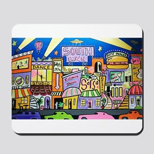 Design #32 SOuth Beach Miami Nightlife Mousepad