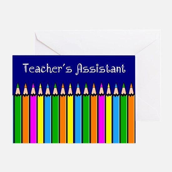 Teachers Assistant Greeting Card