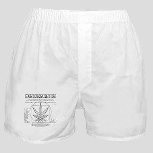 Vitruvian Grass Boxer Shorts