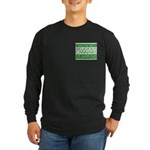 Religious Cannabis Long Sleeve Dark T-Shirt