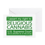 Religious Cannabis Greeting Cards (Pk of 10)