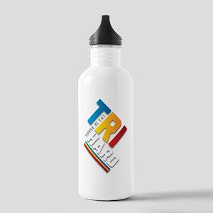 Tri Hard Sports Water Bottle