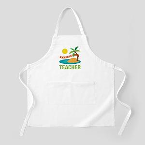 Retired Teacher Apron