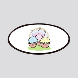 three cute little cupcakes Patches