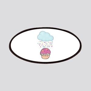 Cute Raining Sprinkles on Cupcake Patches