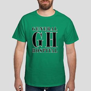 General Hospital Black Dark T-Shirt