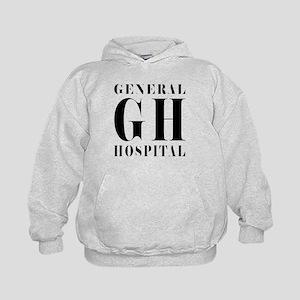 General Hospital Black Kids Hoodie