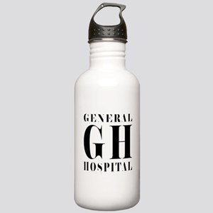General Hospital Black Stainless Water Bottle 1.0L