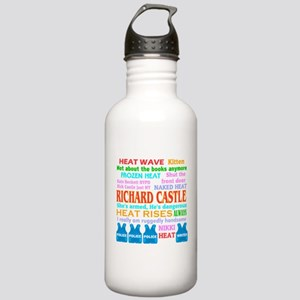 Richard Castle Funny Quotes Stainless Water Bottle