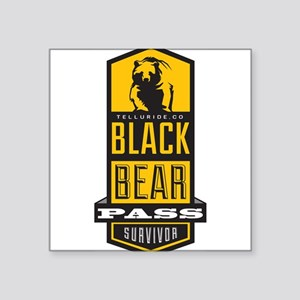 black bear pass Sticker