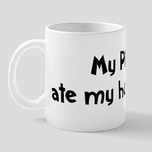 Pit Bull ate my homework Mug