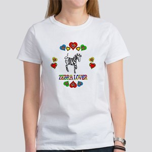 Zebra Lover Women's T-Shirt