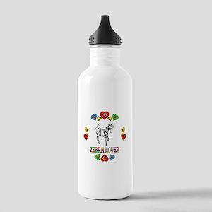 Zebra Lover Stainless Water Bottle 1.0L