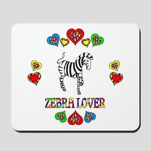 Zebra Lover Mousepad