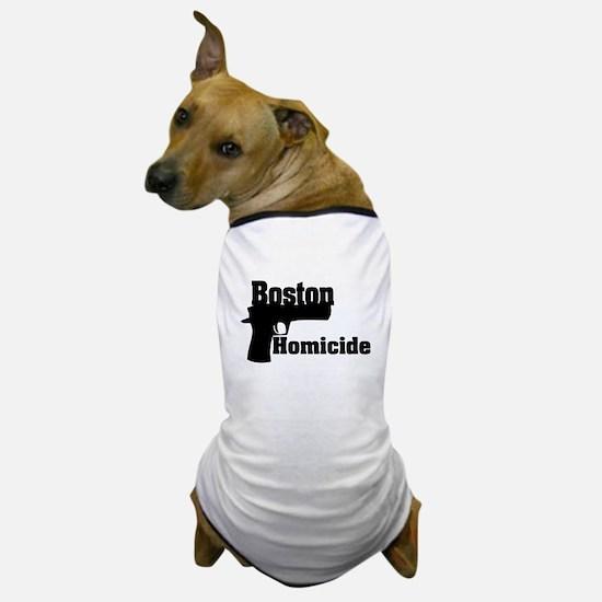 Boston Homicide 1 Dog T-Shirt