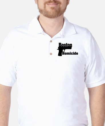 Boston Homicide 1 Golf Shirt