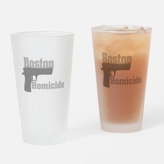 Boston Homicide 2 Drinking Glass