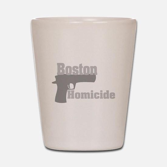 Boston Homicide 2 Shot Glass