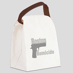 Boston Homicide 2 Canvas Lunch Bag